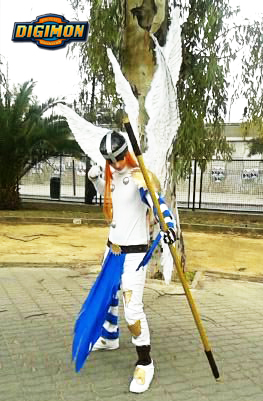 Angemon cosplay by LeydaCosplay