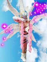Angewomon cosplay by LeydaCosplay