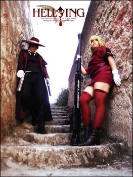 Alucard and Seras Victoria Cosplay