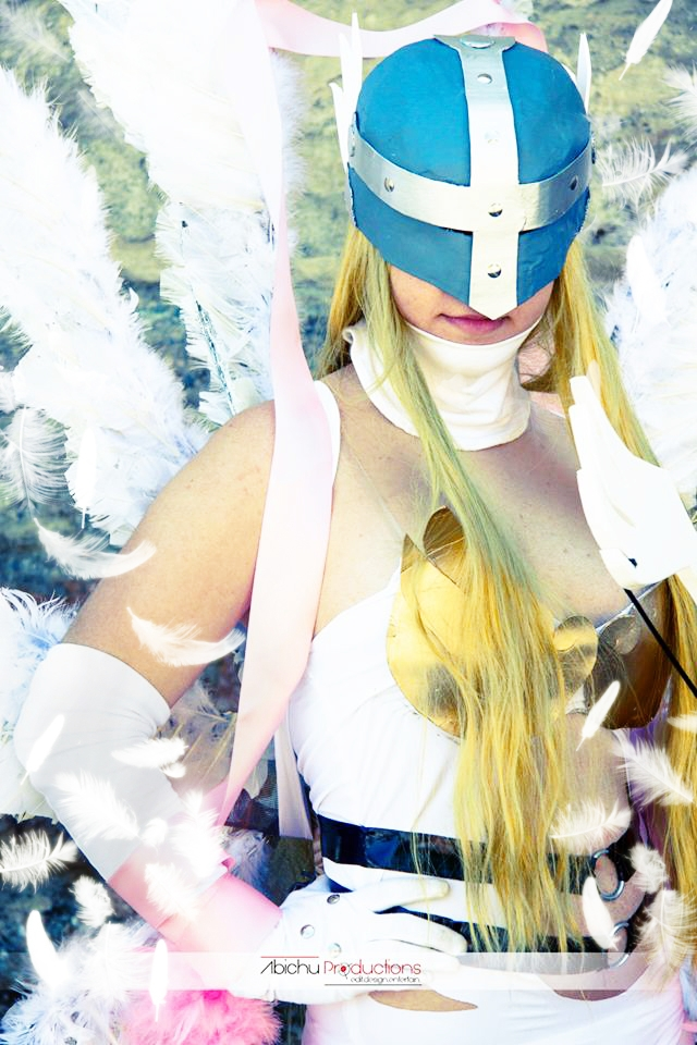 Angewomon cosplay. by LeydaCosplay