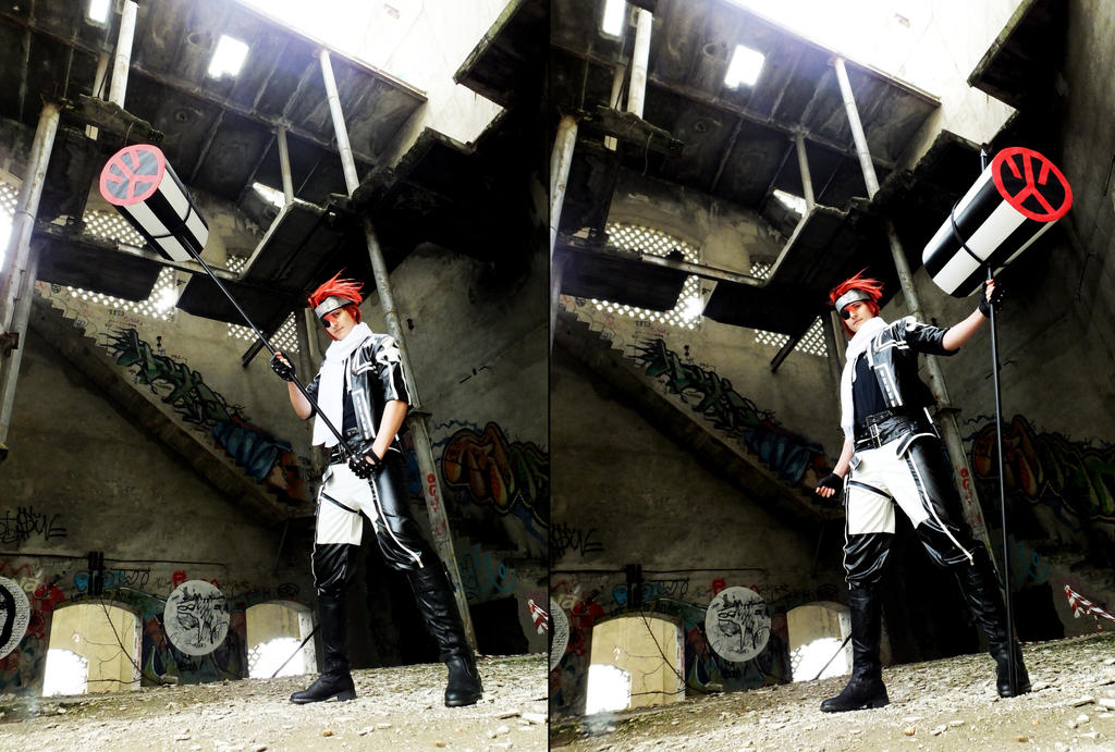 Lavi cosplay 2 Uniform  D gray man by LeydaCosplay