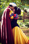 Prince Florian and Snowwhite Kissing