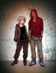 Suki + Philemon by Mister-Dragonspit