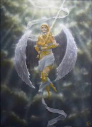 Golden Angel by Friedemann-Reim