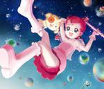 Cosmic Baton Girl Comet san