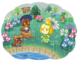animal crossing summer