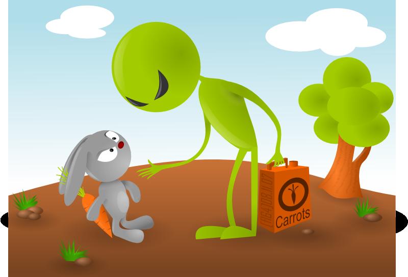 Carrot wars by fl64
