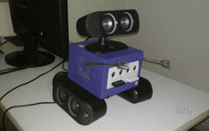 My Gamecube Has Become...  A Transformer! by PixelOz