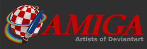 A Logo for Amiga Artists Group In Blender