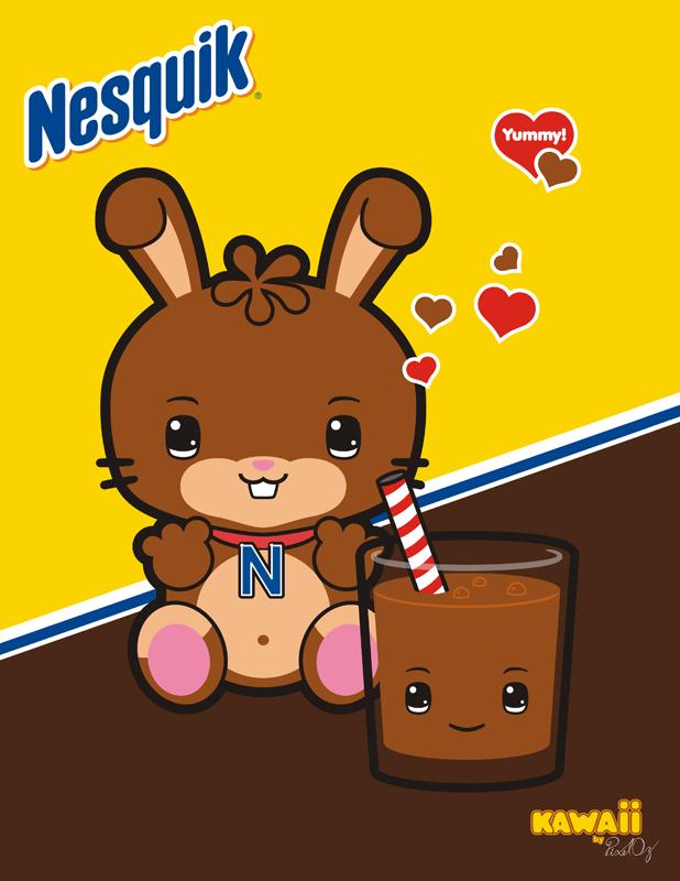 Kawaii Quik Bunny by PixelOz