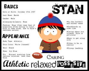 Character Sheet- Stan