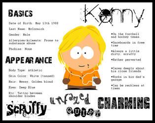 Character Sheet- Kenny