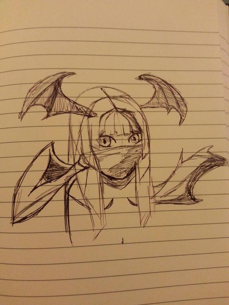 Sketching of gaia avi by revenge-of-nerd-girl