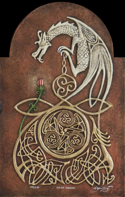celtic dragon by kevindyer on deviantart. Black Bedroom Furniture Sets. Home Design Ideas