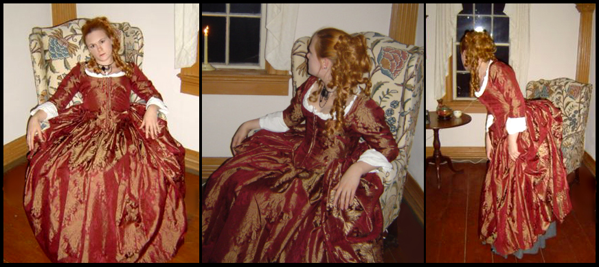Red Robe A'Langlaise by jeriquan