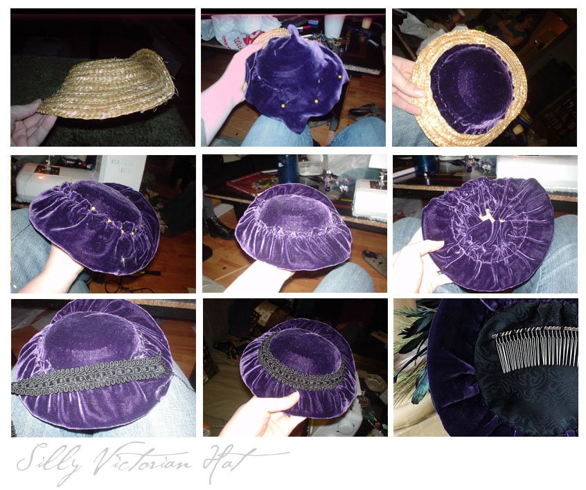 how to make victorian hats - photo #7