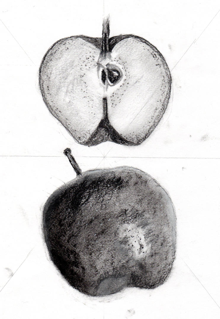 Apple Drawing By Sgtpepper856 On Deviantart