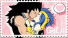 Stamp - GaLe (Gajeel x Levy) by Ashori