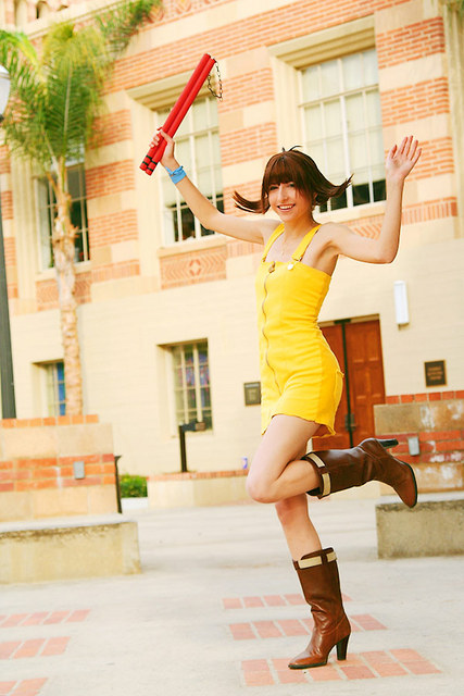 Selphie goes to UCLA by Shiya