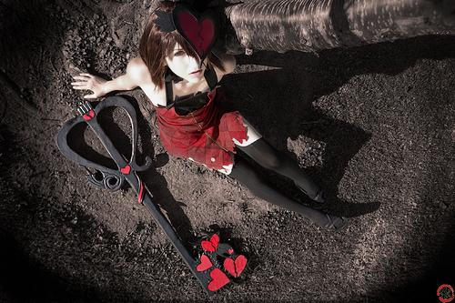 Broken love    Halloween Kairi by Shiya