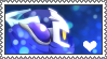 Meta Knight stamp by LittleCloudie