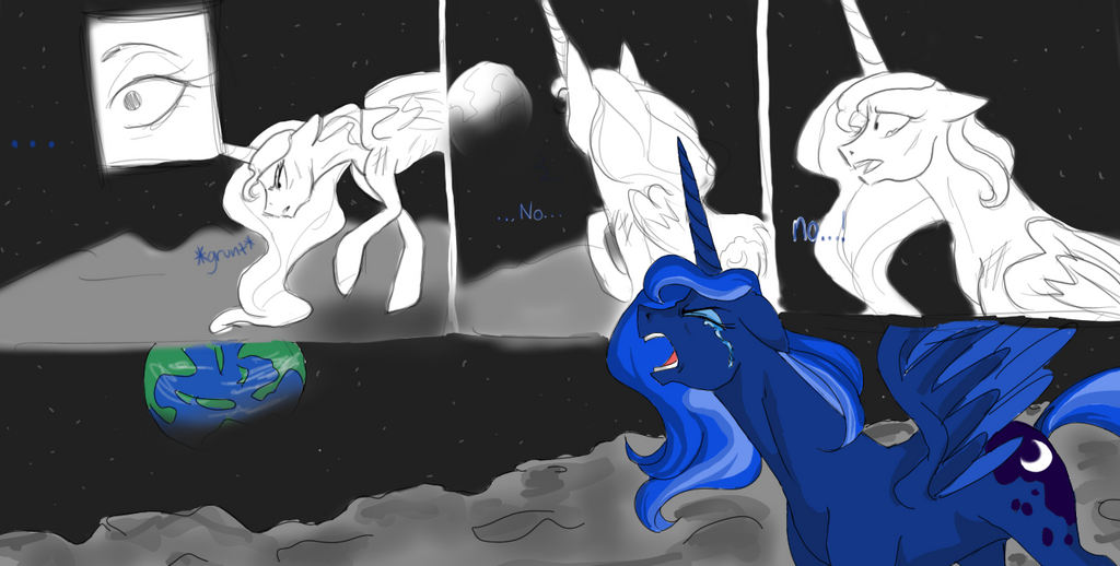 Luna's banishment by Maiko-of-Harmony