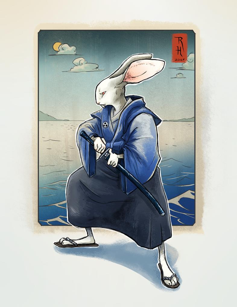 Usagi Yojimbo by AstroRobyn