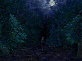 Stormy Night by AstroRobyn