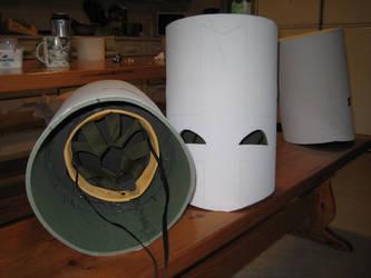 castle crashers helmet inside and outside...