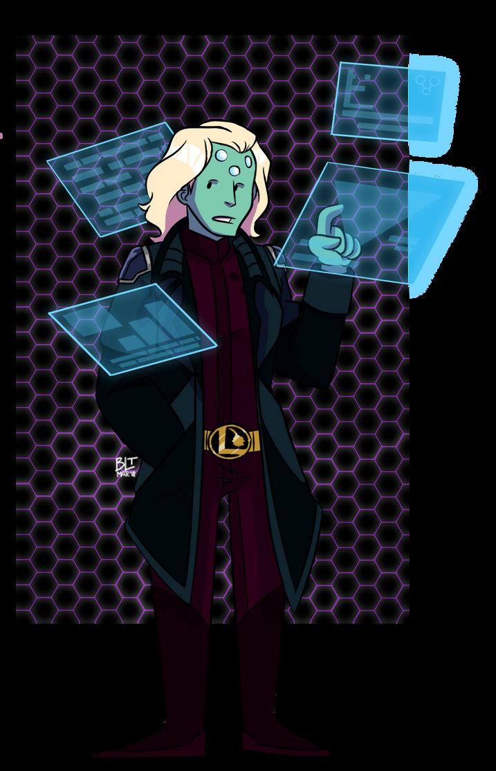 Brainiac 5 Redesign by BrandiLea