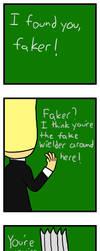Faker! by Kirbyfier