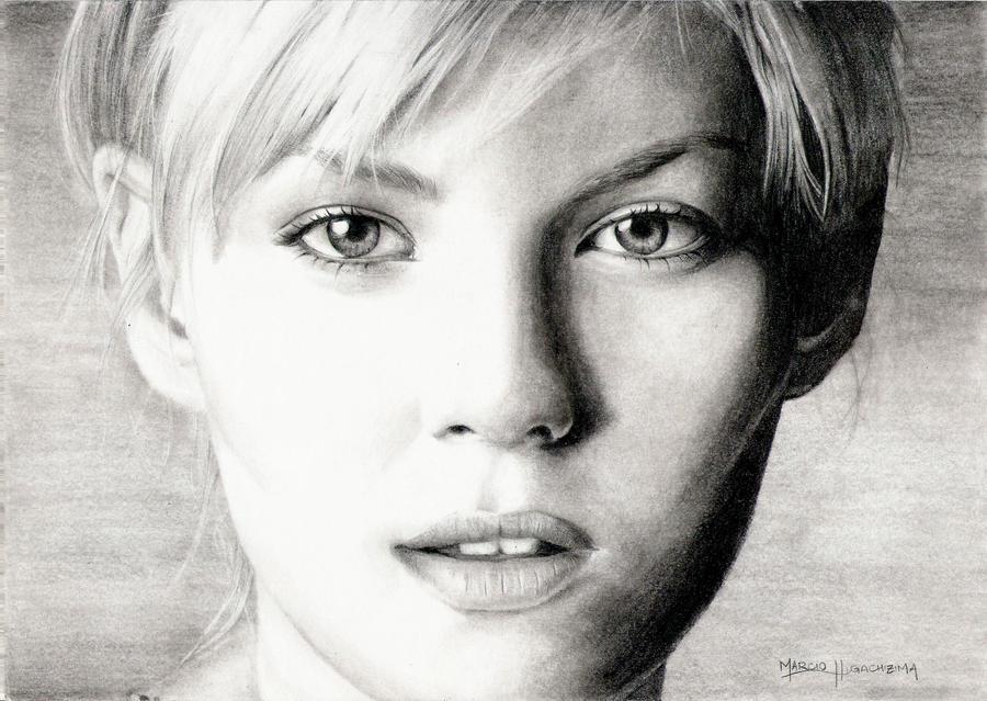 Elisha Cuthbert by marcioh