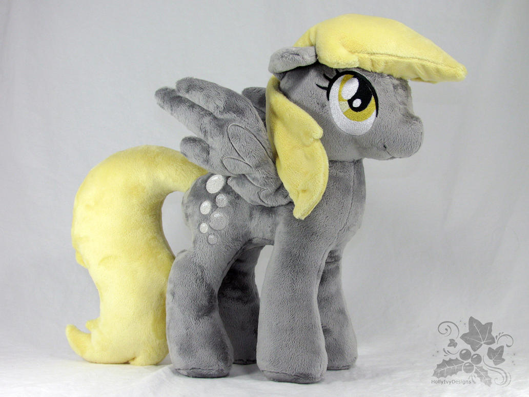 Plush Derpy Hooves by HollyIvyDesigns