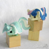 Tsum Tsum Lyra and Bon Bon/Sweetie Drops by HollyIvyDesigns