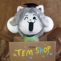 Shopkeeper Temmie by HollyIvyDesigns