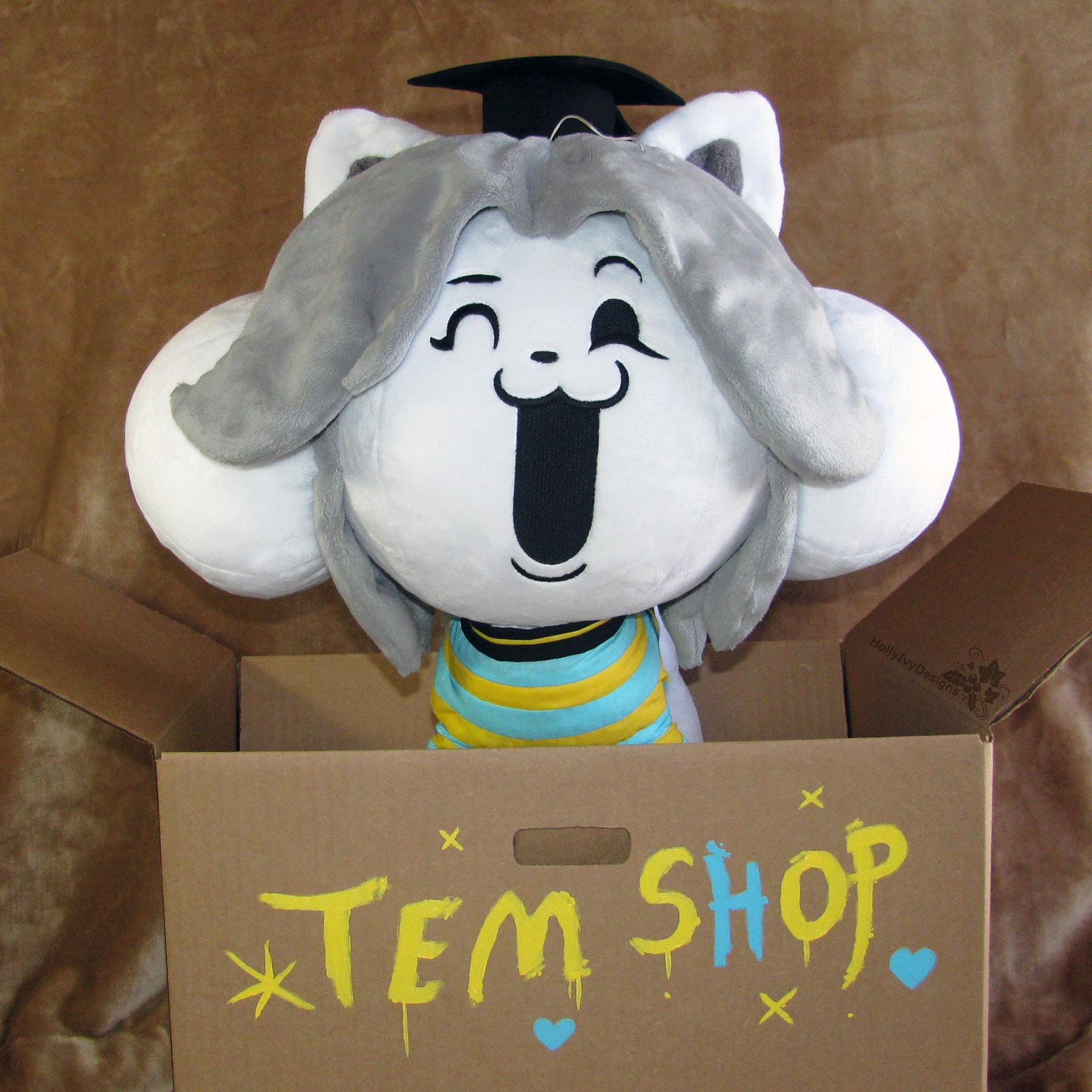 Shopkeeper Temmie By HollyIvyDesigns On DeviantArt