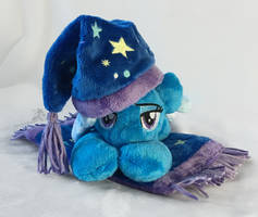 Trixie Beanie with Glow-in-the-Dark Accessories by HollyIvyDesigns