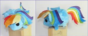 Rainbow Dash Tsum by HollyIvyDesigns
