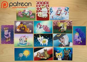 Patreon Postcards
