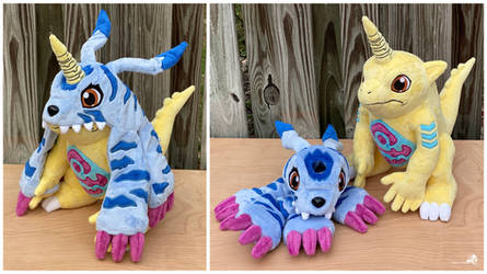 Gabumon with Removable Fur by HollyIvyDesigns