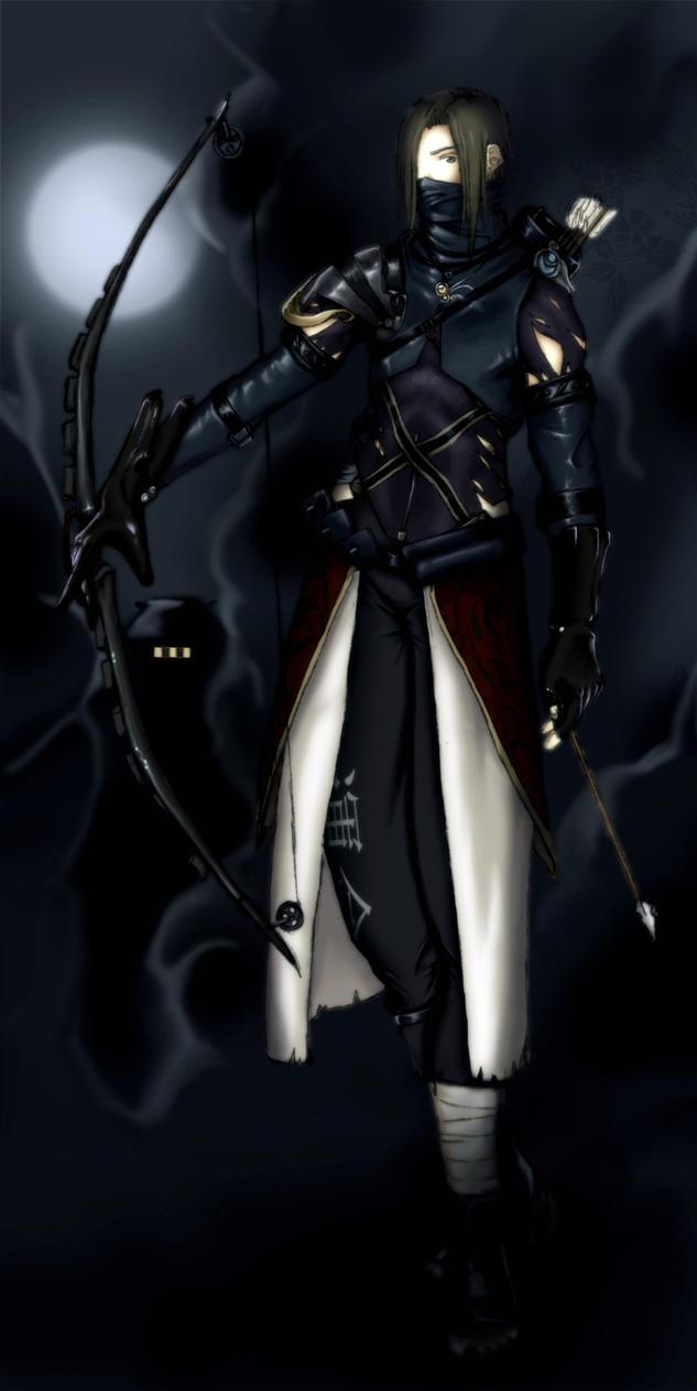 Shinobi of Hunter's Moon by danraku