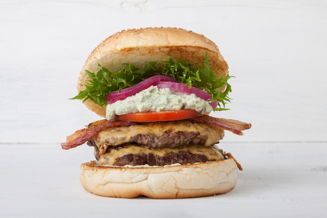 Gorgon Burger by reverton