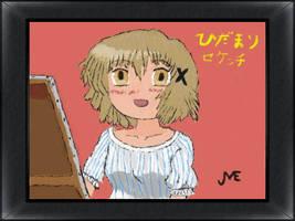 Hidamari Sketch - Yuno by jaimehlers