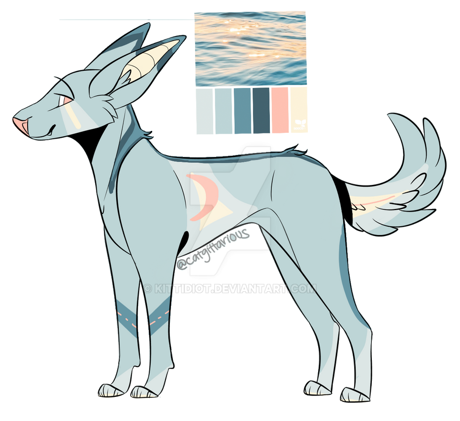 Ocean Dog Adopt (OPEN) OTA by Kittidiot