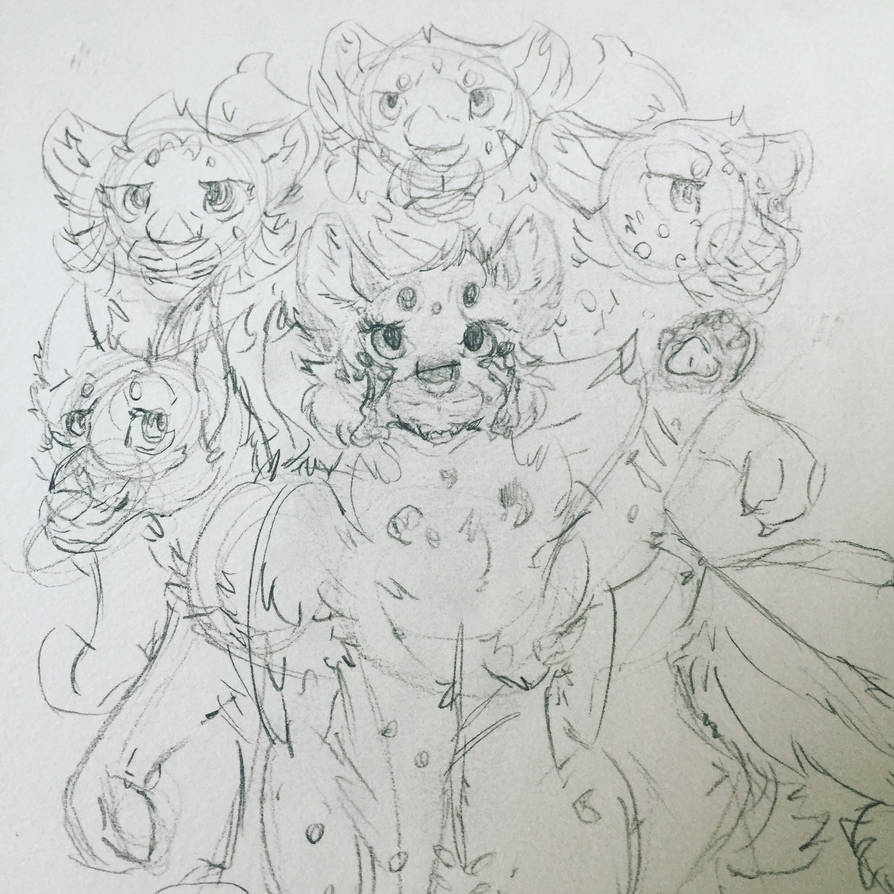 The Crew (WIP) by Kittidiot