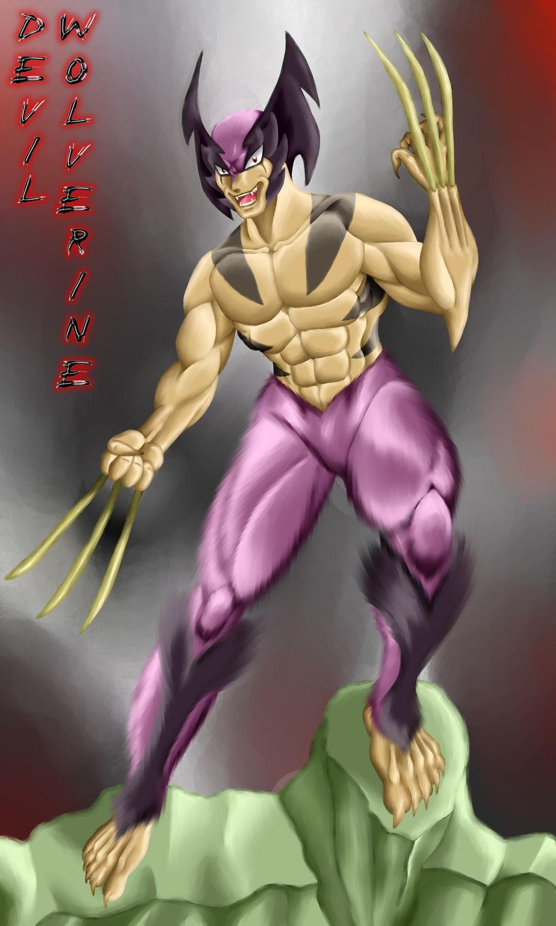 Devil-Wolverine by R-Wolverine