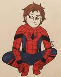 Inktober Day 13 - Spider Boy