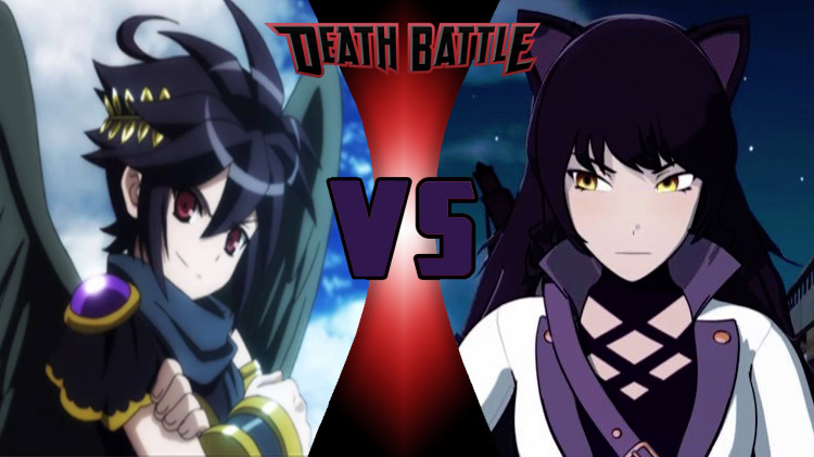 Dark Pit vs. Blake Belladonna! Round 2! by XImortalPantzFTWX