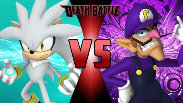 Silver vs. Waluigi! by XImortalPantzFTWX