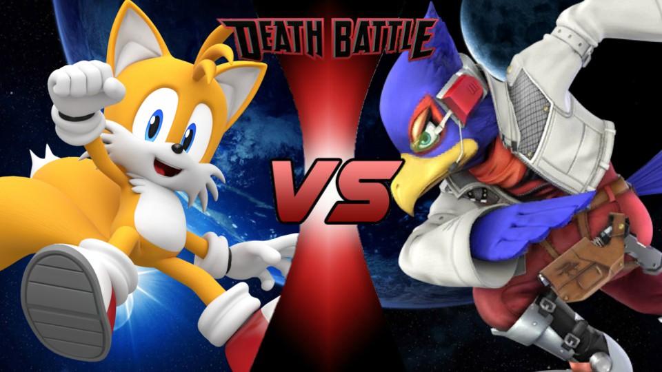 Falco vs. Tails by XImortalPantzFTWX